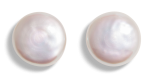 Freshwater Pearls 17-18mm coin white AAAA quality undrilled pair